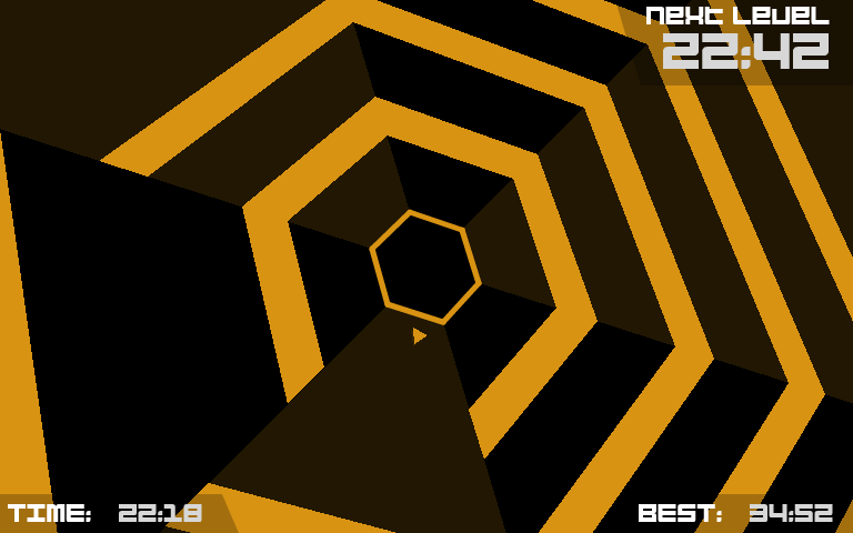 This is a post about Super Hexagon and being shy